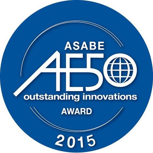 ASABE 50 best awards logo